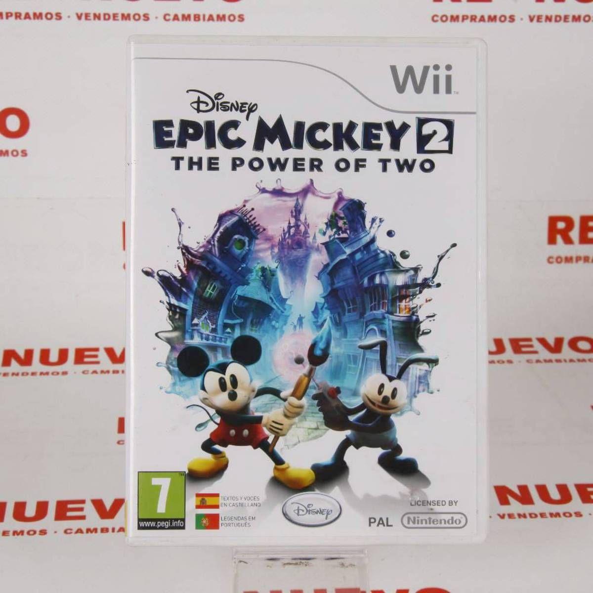 Juego Para Wii Epic Mickey 2 E270490 Epick Mickey De Segunda Mano