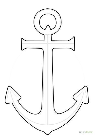 Anchor Tattoo Line Drawing : Anchor drawing simple google search teacher gifts