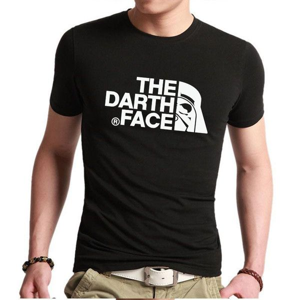 Star Wars Darth Vader T Shirt   The Darth Face