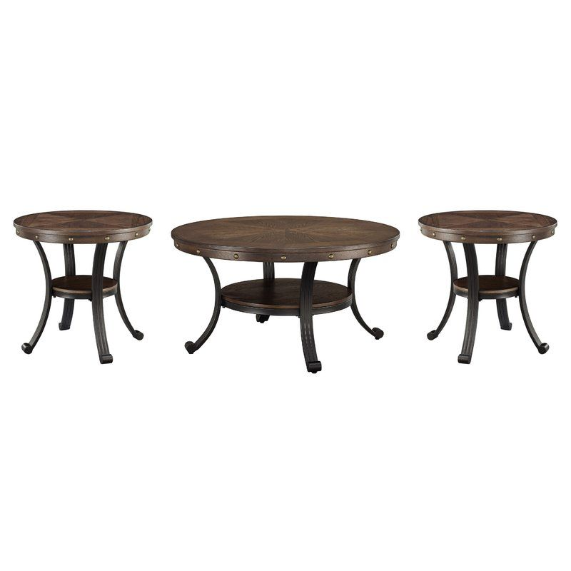 Archstone 3 Piece Coffee Table Set 3 Piece Coffee Table Set