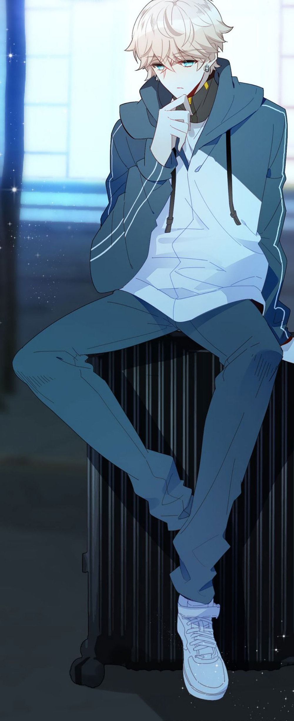 Zuven Avis Why Are You Sitting On A Heater Cute Anime Guys Anime Artwork Anime Characters