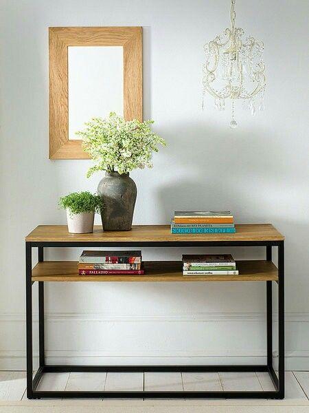 Recibidor herreria decoraci n de unas mueble for Muebles de diseno industrial