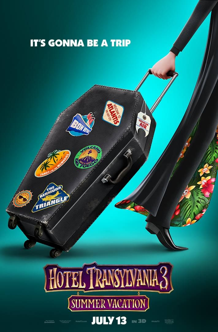 Hotel Transylvania 3 Summer Vacation In Theaters July
