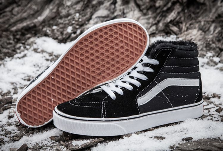 vans winter shoes with fur