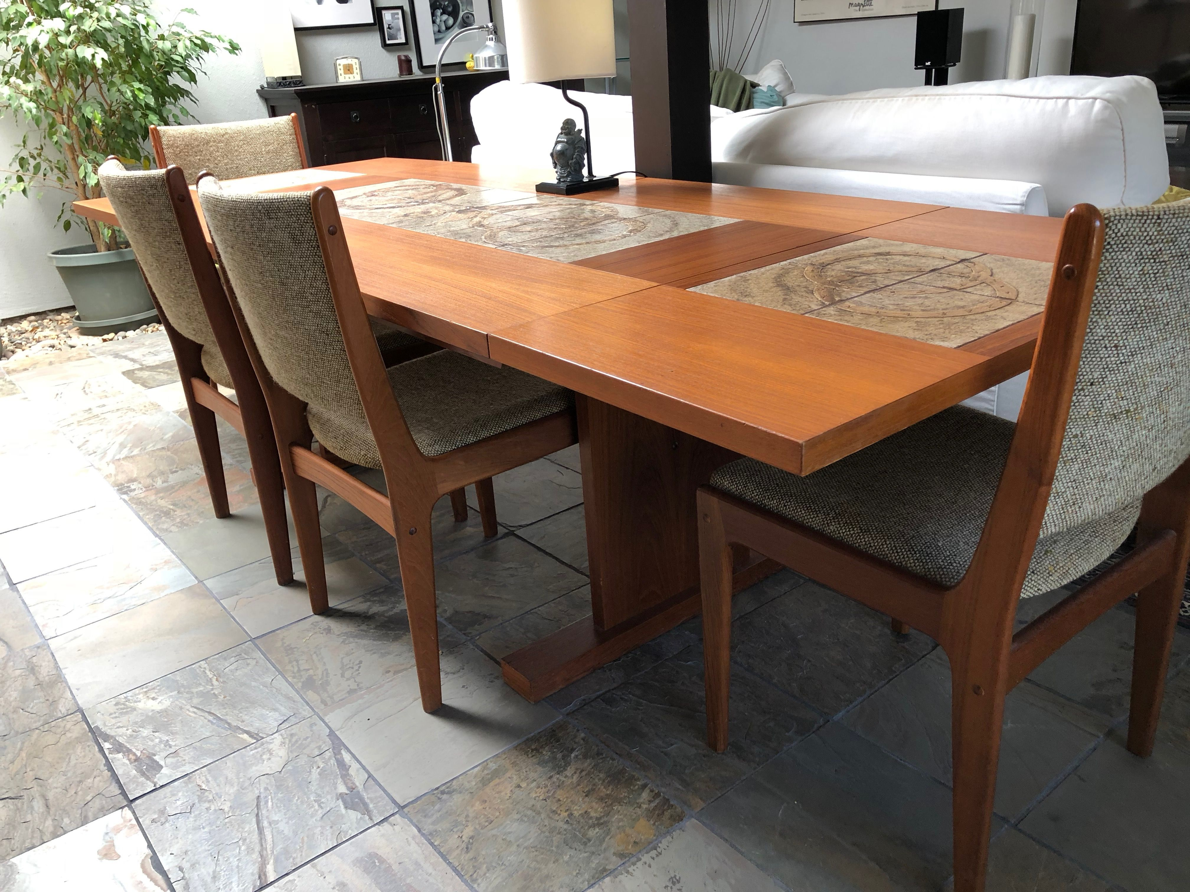 New (To Me) Dining Table Vintage Scandinavian Modern