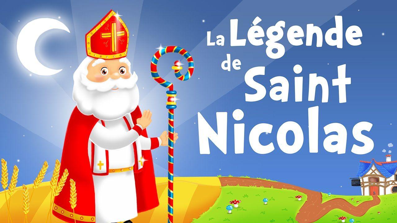 La Légende De Saint Nicolas Chanson Pour Petits Avec Paroles