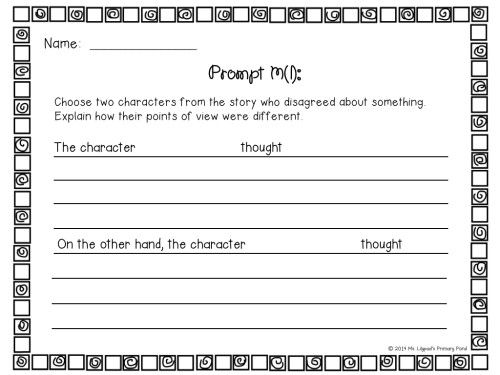 Strategies for Teaching Primary Students to Write About Texts - Learning at the Primary Pond