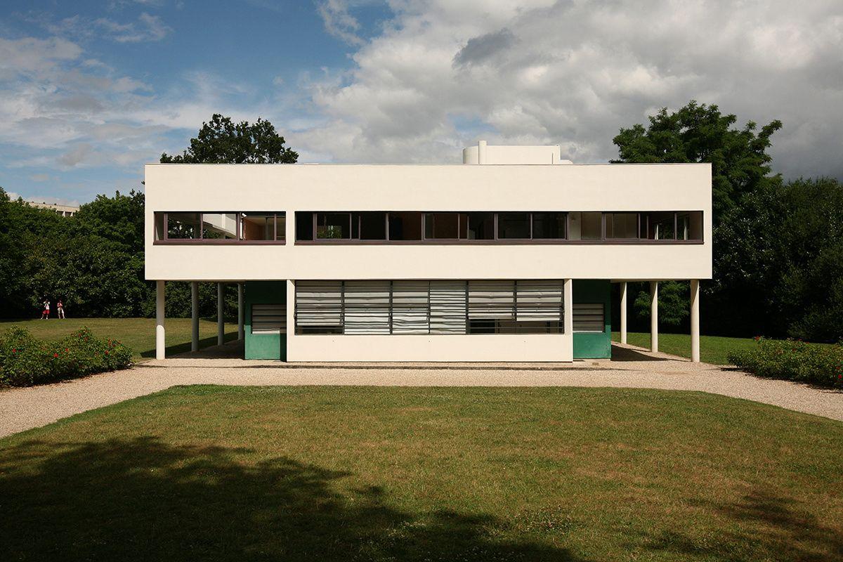villa savoye 1931 ad espa a cordon radical proyecto. Black Bedroom Furniture Sets. Home Design Ideas