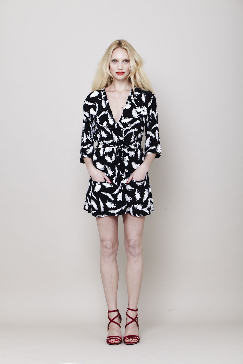 Palm Shirt dress | Summer 13