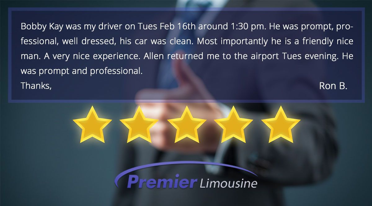 Thank you for letting us know when you're happy! #LuxuryTravel #LuxuryLifestyle #LuxuryLimo #DriveProfit #Limousine  #Limo #Testimonial