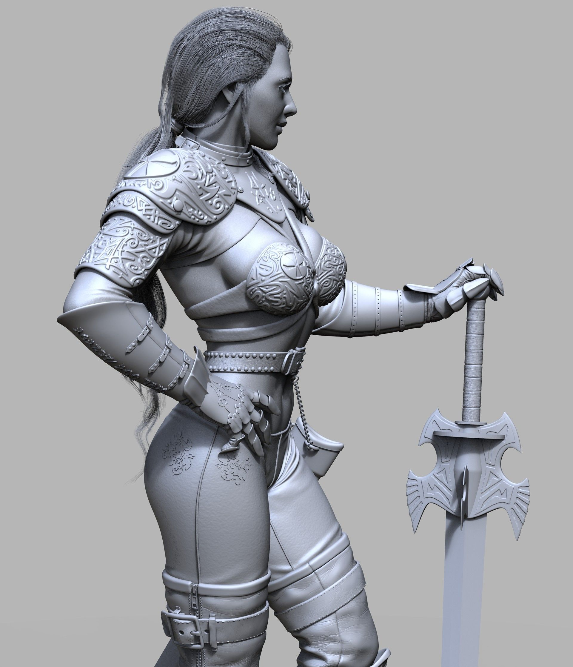 ArtStation - June Warrior 2, Arturius Lazer