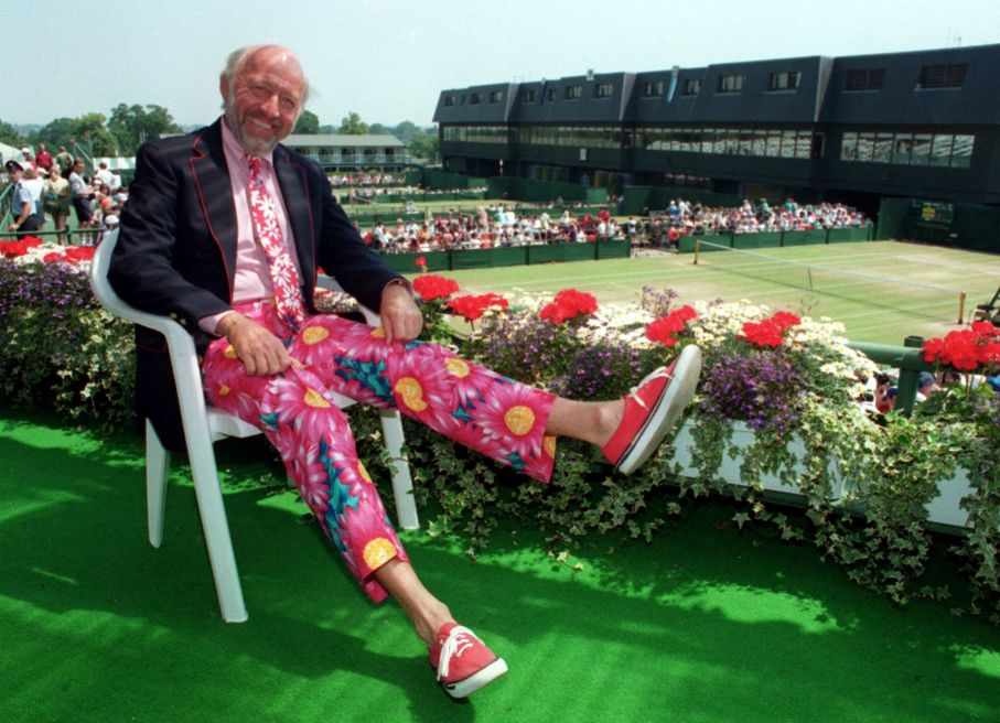 For Bud Collins, Tennis Was A Way Of Life Tennis