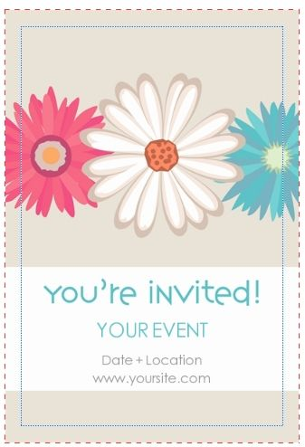 Invitation Card Design Template templates Pinterest - free template invitation