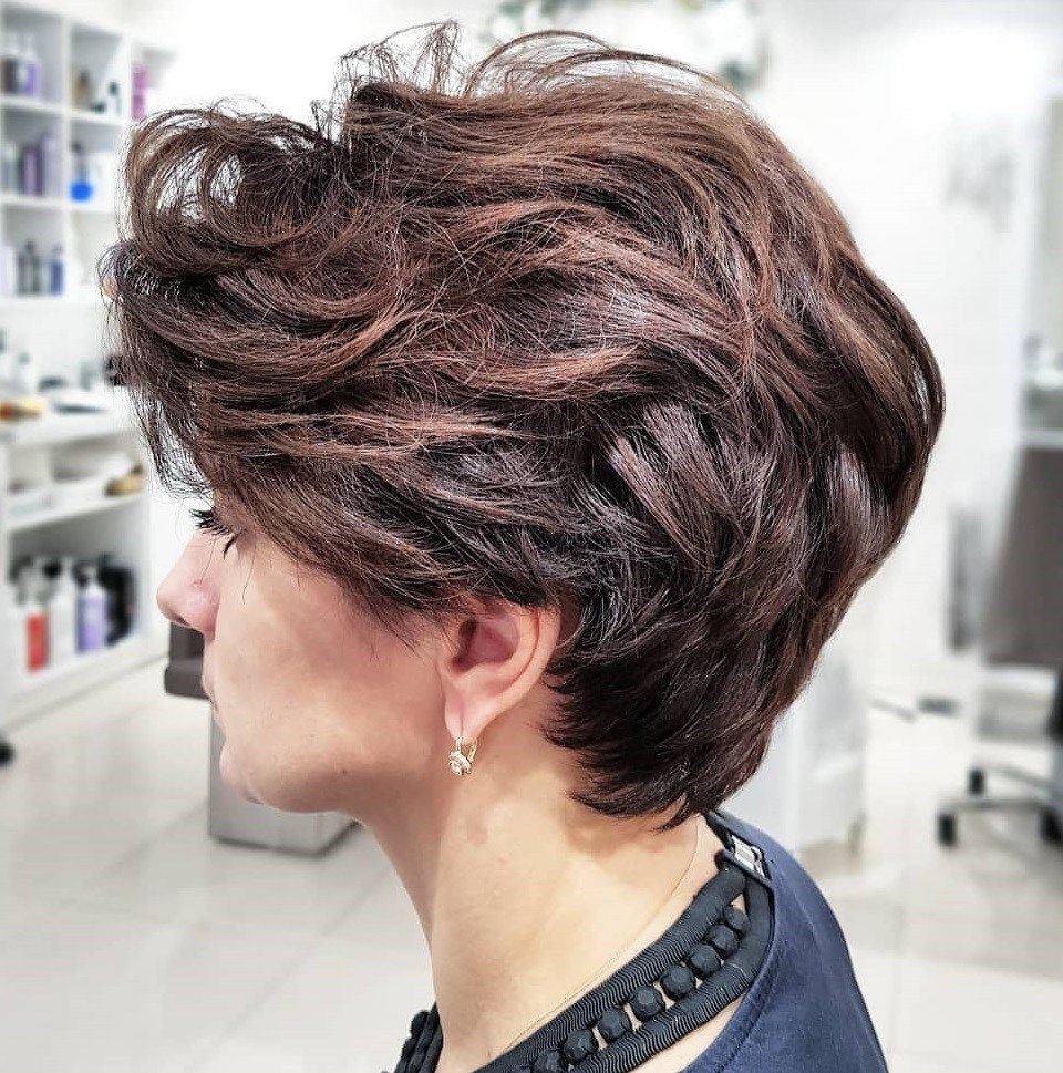 Pixie Haircuts For Thick Hair 50 Ideas Of Ideal Short Haircuts Short Hairstyles For Thick Hair Thick Hair Styles Haircut For Thick Hair