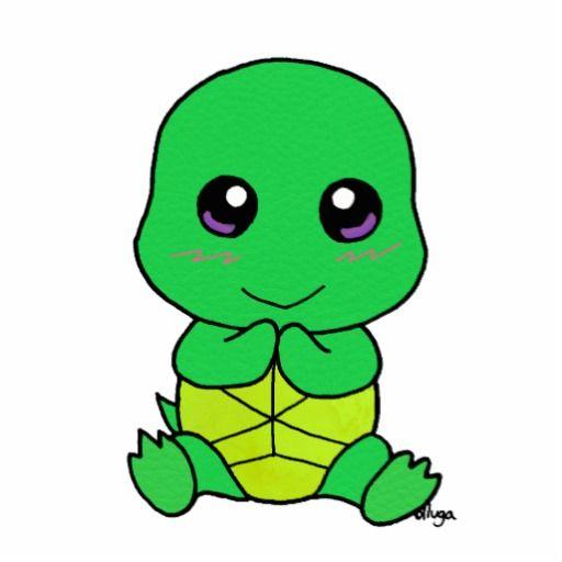 cute Baby turtle Statuette | Zazzle.com | SEA TURTLES ...