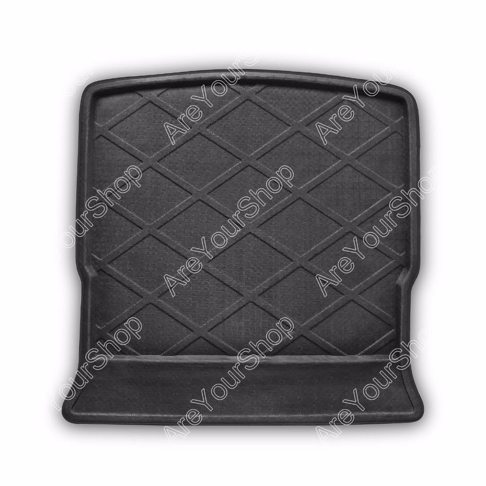 Car Auto Cargo Mat Boot Liner Tray Rear Trunk Sticker For Ford S
