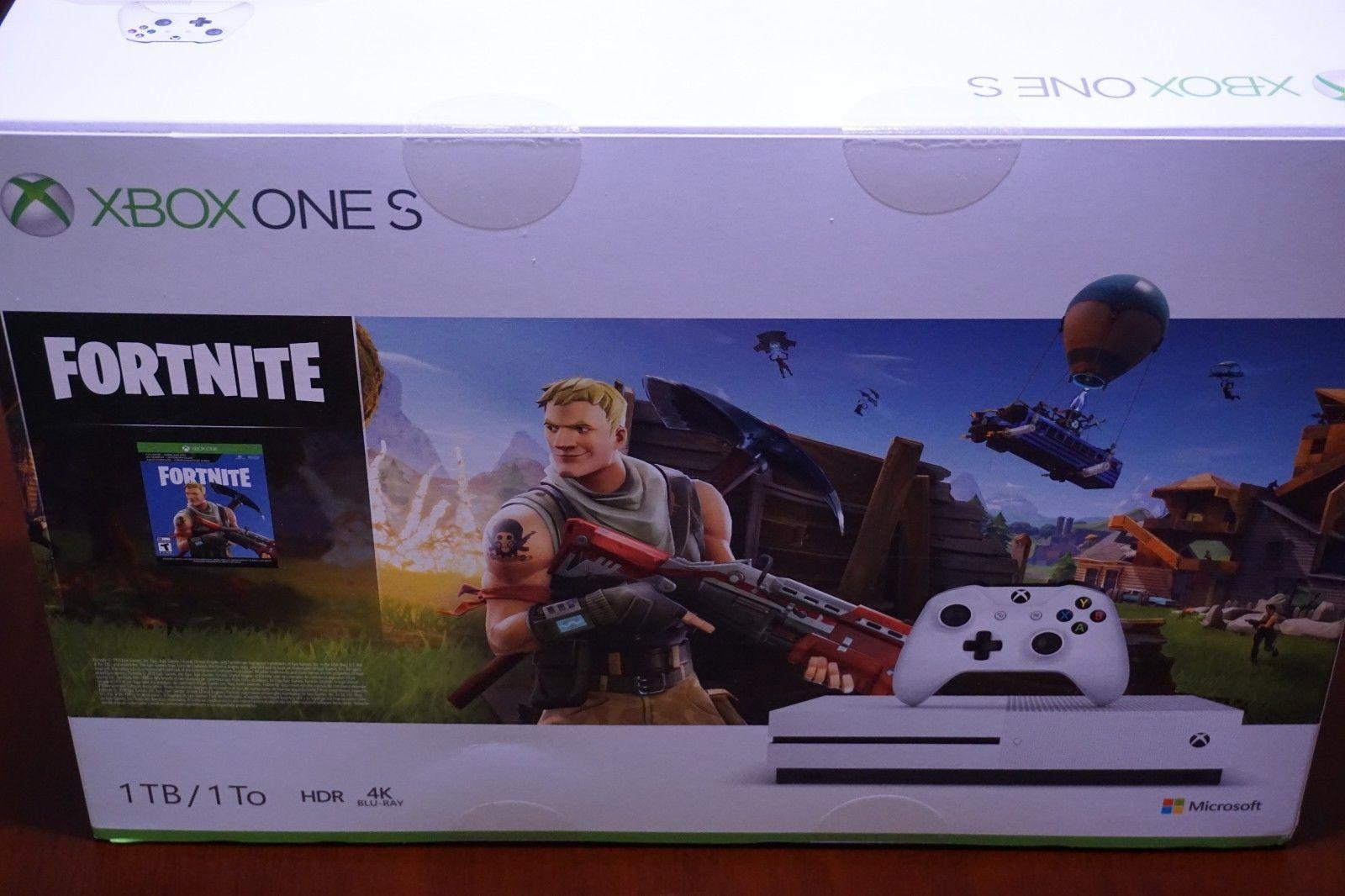 Xbox One S 1tb Fortnite Bundle Full Game Battle Royale 2000 V Bucks Eon Costume We Sell Fortnite Accounts And Loot Crates Ch Xbox One S 1tb Xbox One Xbox One S