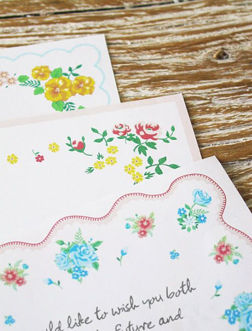 DIY Wedding Guestbook Handkerchief Love Letters picture - love letter templates free