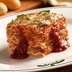 Lasagna Classico. Olive Garden ...