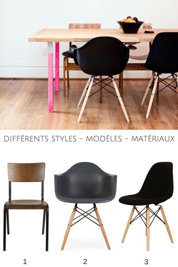 Chaises Depareillees 59 Idees Pour Les Assortir Astuces En Photos Chaises Depareillees Chaises Bois Et Chaise