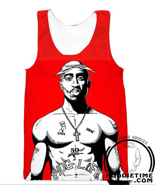 8677e0de06c Tupac Thug Life 2pac Hoodie - 3D Pullover Clothing - Hip-Hop Hoodies ...