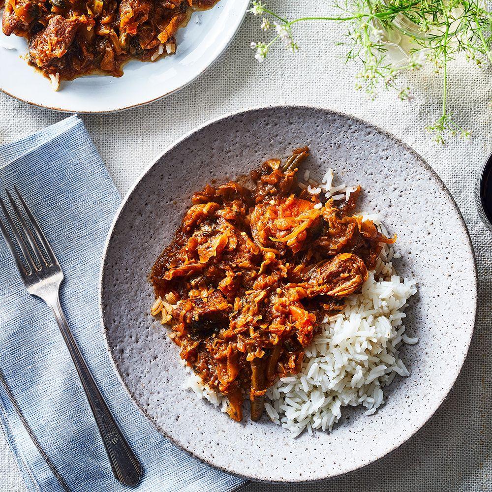 Cheap creamy chicken curry recipe haitian food recipes