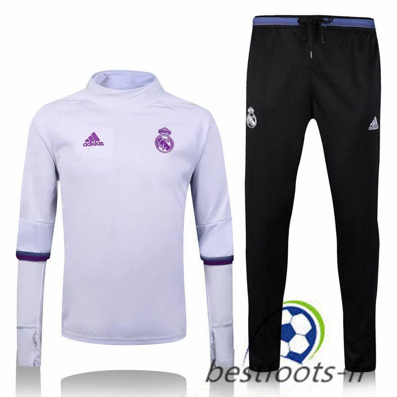Le Survetement de foot Real Madrid Collar