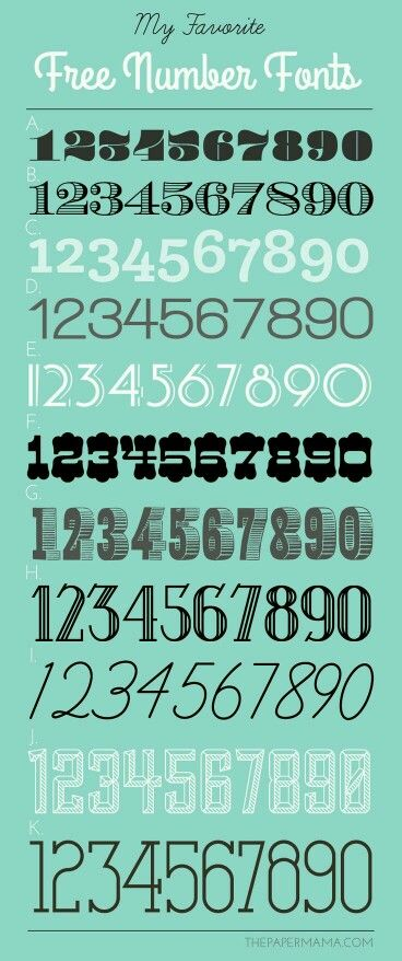 & house numbers