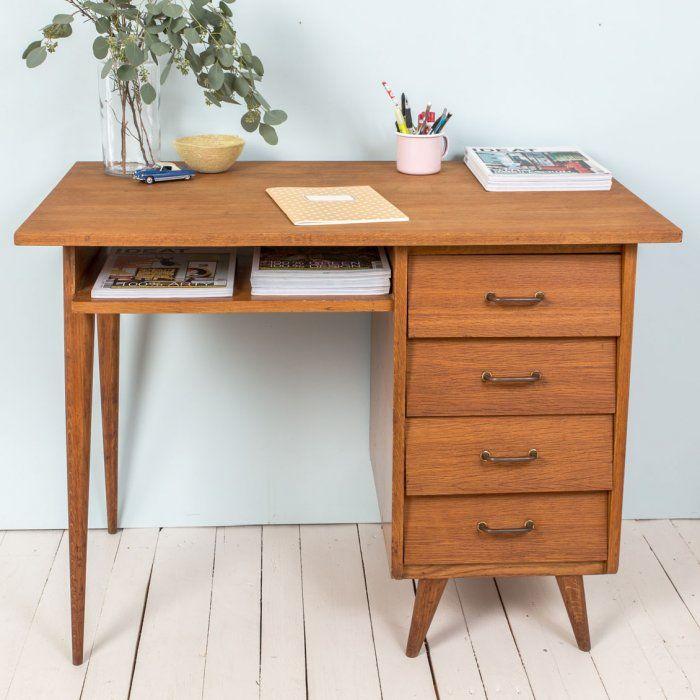 Bureau vintage annes 50 Workspace Pinterest Bureaus