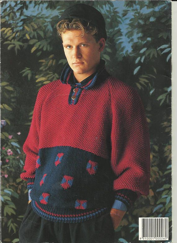 Patons #896 Knitting Pattern Book - 12 ply Jet Patterns included ...