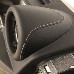 "Photo of The Hog Ring | Auto Upholstery on Instagram: ""Impress dash wrap by @juliya_deeva #thehogring #handmade #autoupholstery #upholstery #sewing #stitching #carinterior #hotrod #leatherwork…"""