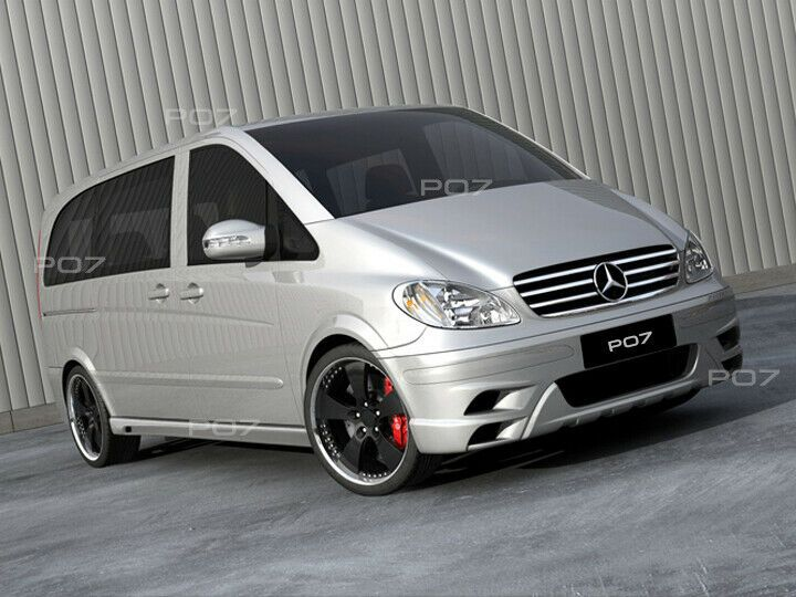 Photo of Mercedes Vito 639 FRONTSTANGE HECKSTOßSTANGE SEITENSCHWELLER  AMG LOOK BODYKIT