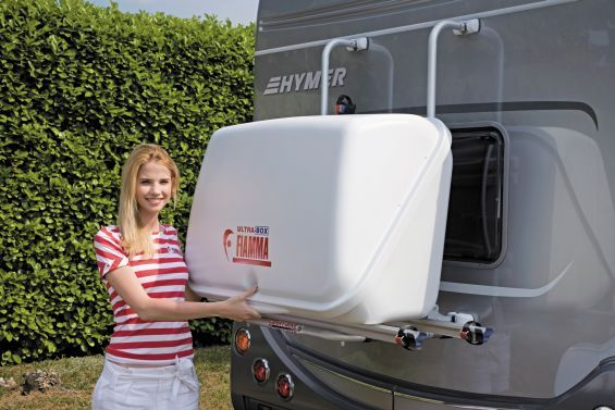 Camper Van Rear Door Storage Motorhome And Campervan