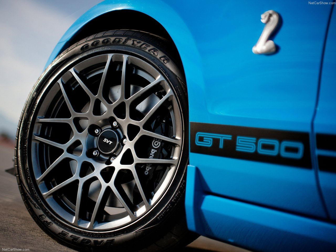 Ford mustang shelby gt500 2013 rims wheels