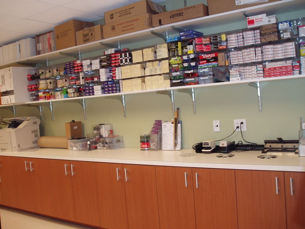 Supply Room Office Organization Neat And Tidy Break Working