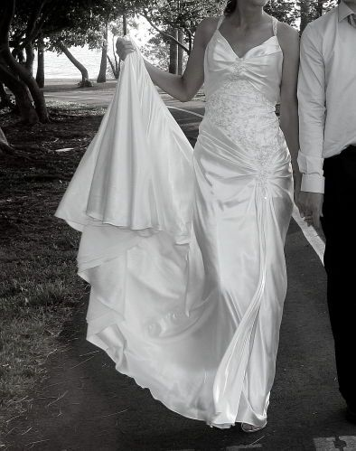 Satin Wedding Dress With Train For Sale Sell Wedding Dress Wedding Dresses Satin Wedding Dress