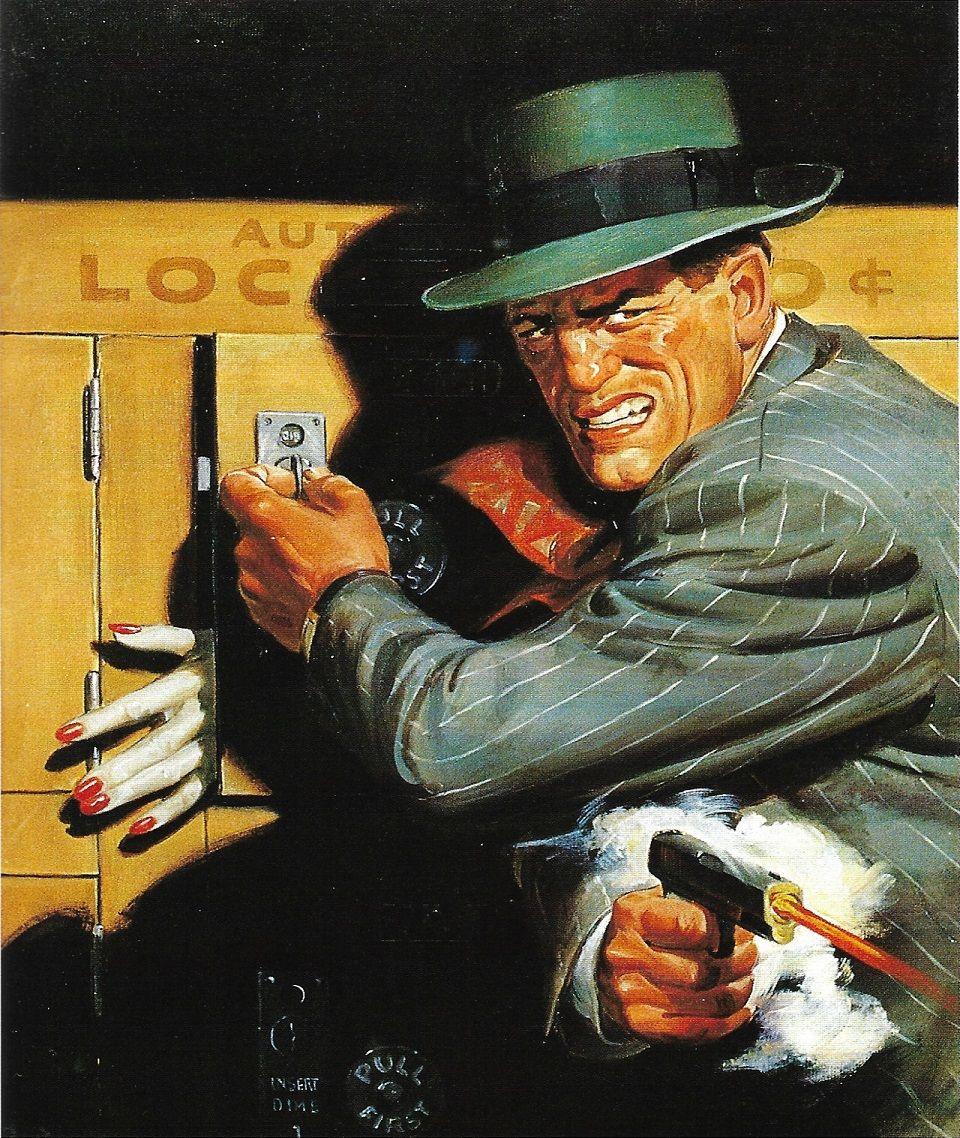 Eyes Behind the Door by Rafael de Soto. Detective Tales Dec. 1947 ...