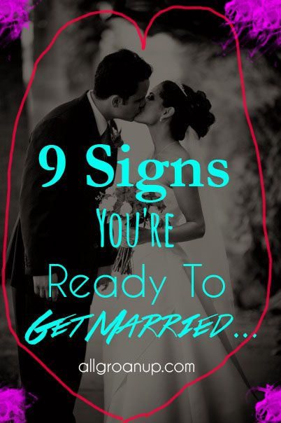 d09ff0906ace19b639ba2329168bb5d6 - How Did You Know You Were Ready To Get Married
