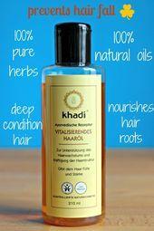 Wachsen Sie schneller mit Khadi Hair Oil   Haa