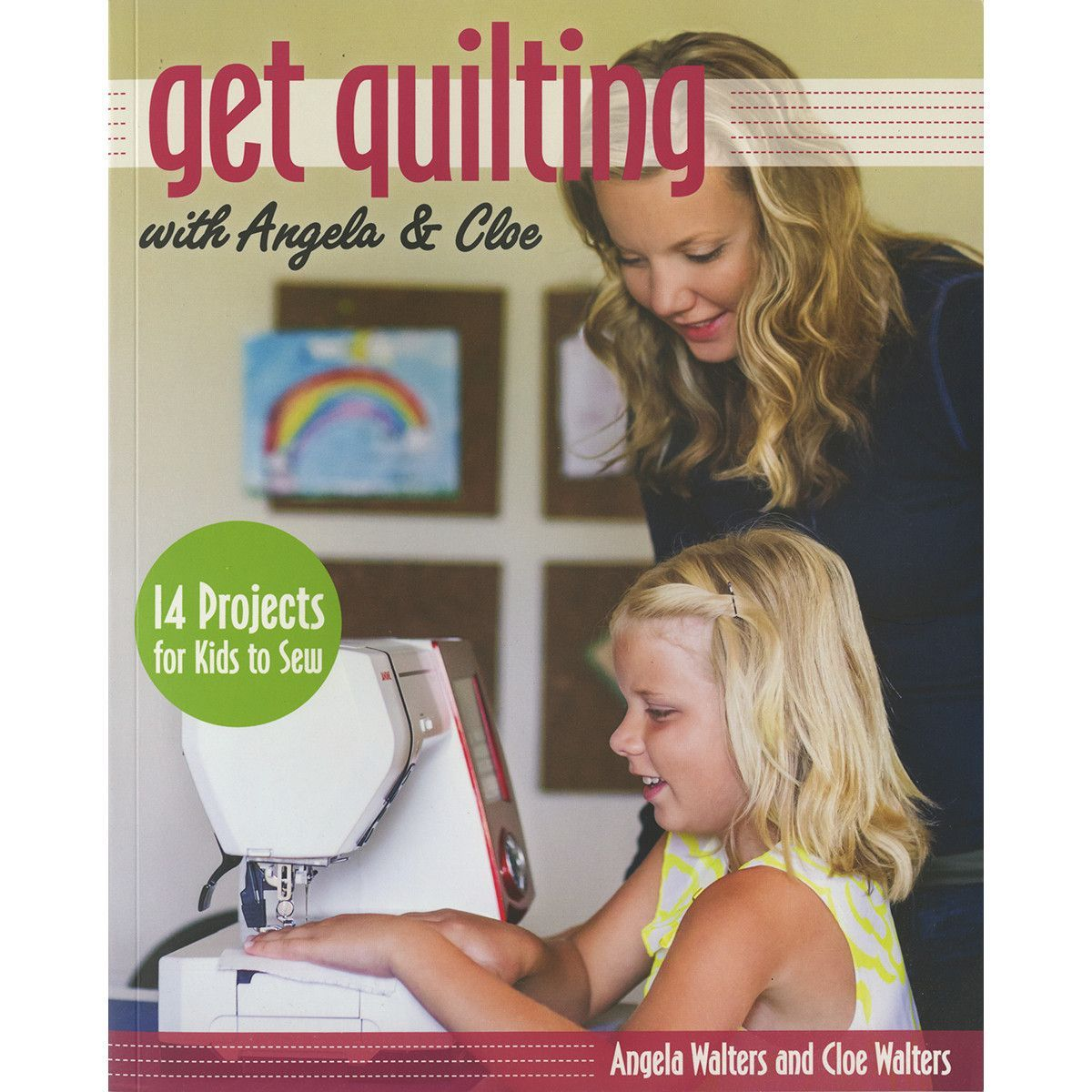 Stash Books-Get Quilting With Angela & Cloe
