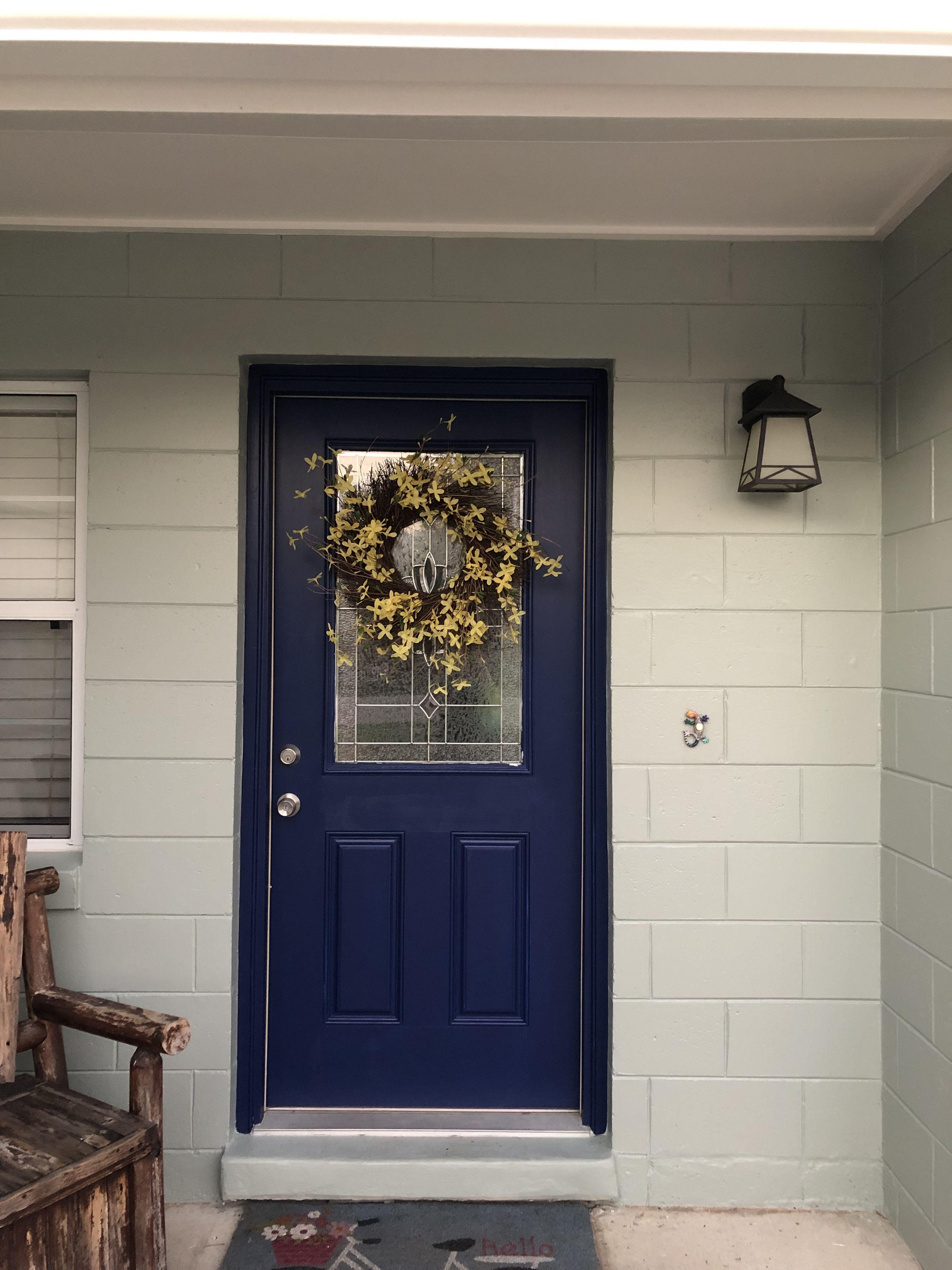 Base Sw Oyster Bay Trim Sw Alabaster Door Sw Dress Blues Paint Color Inspiration House Exterior Oyster Bay [ 4032 x 3024 Pixel ]