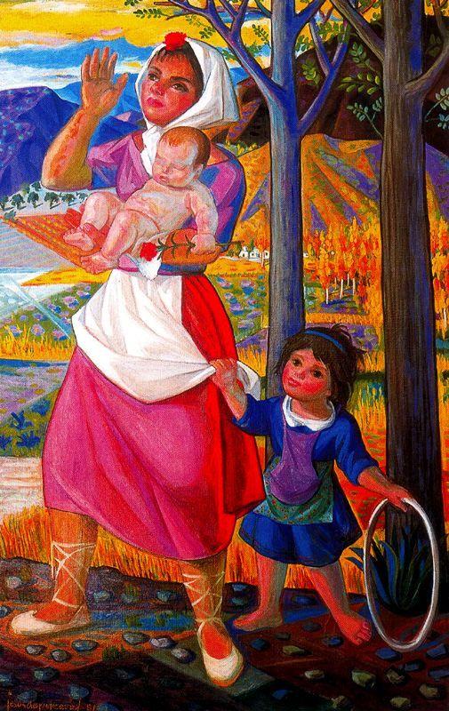 Jesús De Perceval  Nina con aro