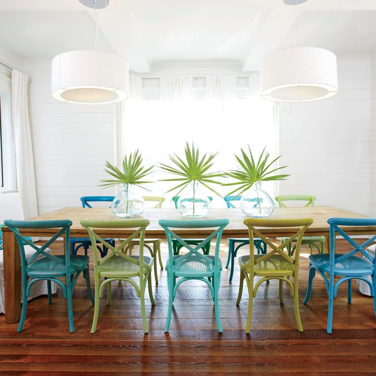 Design Therapy Beach House Dining Room Coastal Dining Room