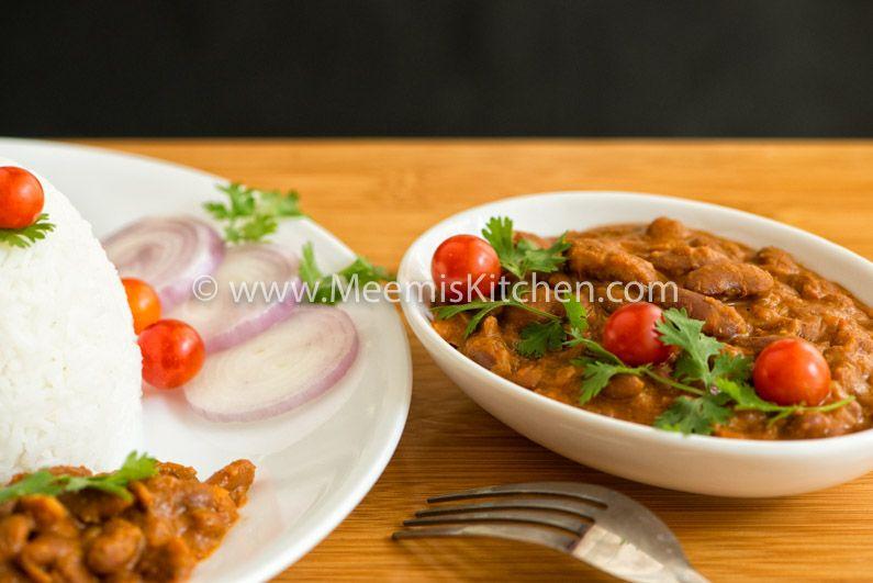Rajma Masala (Red Kidney Beans Curry)