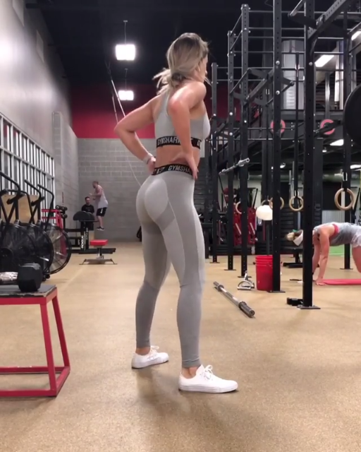 dd6b460331 Leg day workout inspiration. Gymshark athlete