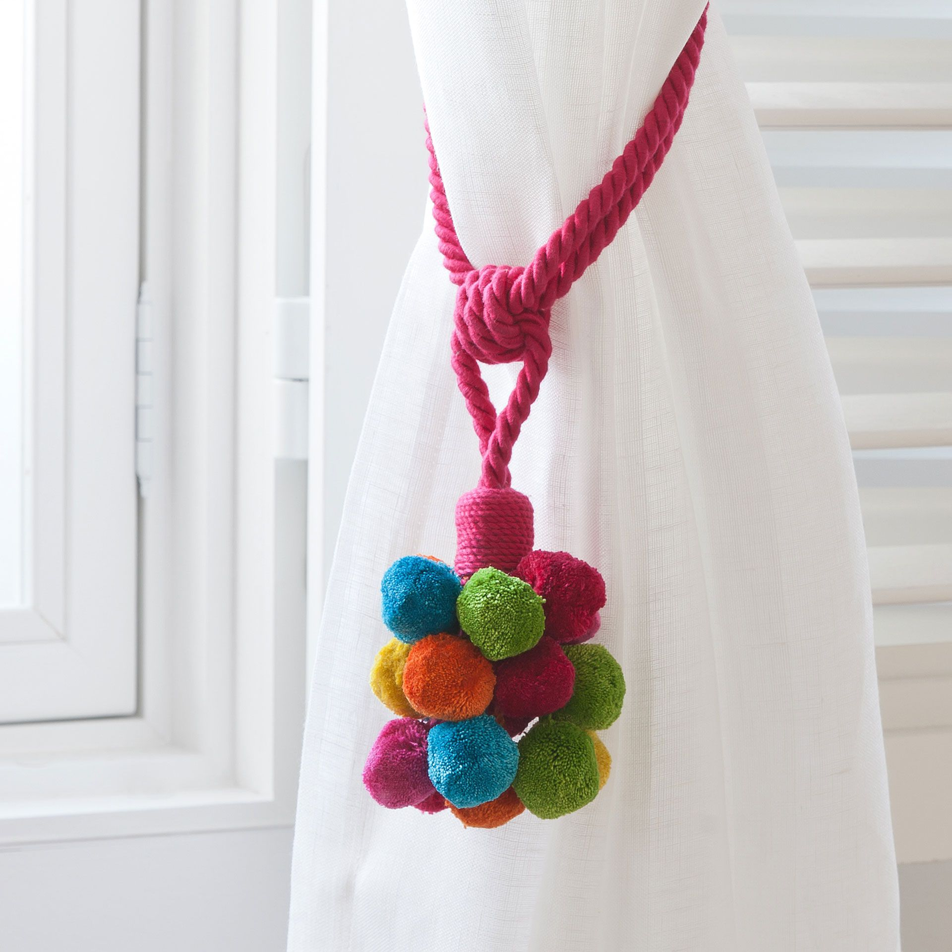 POMPOM TIEBACK - Curtains - Decoration