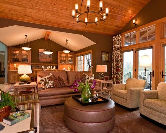 Family Room Knotty Pine Wall Design Pictures Remodel Decor And Ideas Page 7 Contemporary Family Rooms Family Room Family Room Design