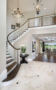 Asheville Model Home Interior Design 1264f   Traditional   Entry   Tampa    Arthur Rutenberg Homes