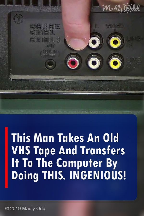 Did you know this was possible? #videos #DIY #gadgets #tech #VCR