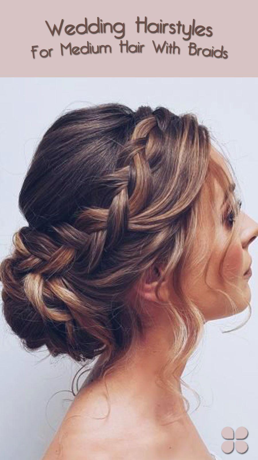 Gorgeous Wedding Hairstyle Ideas for Medium Hair